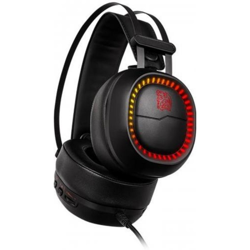 Tt eSPORTS SHOCK PRO RGB Binaural Head-band Black