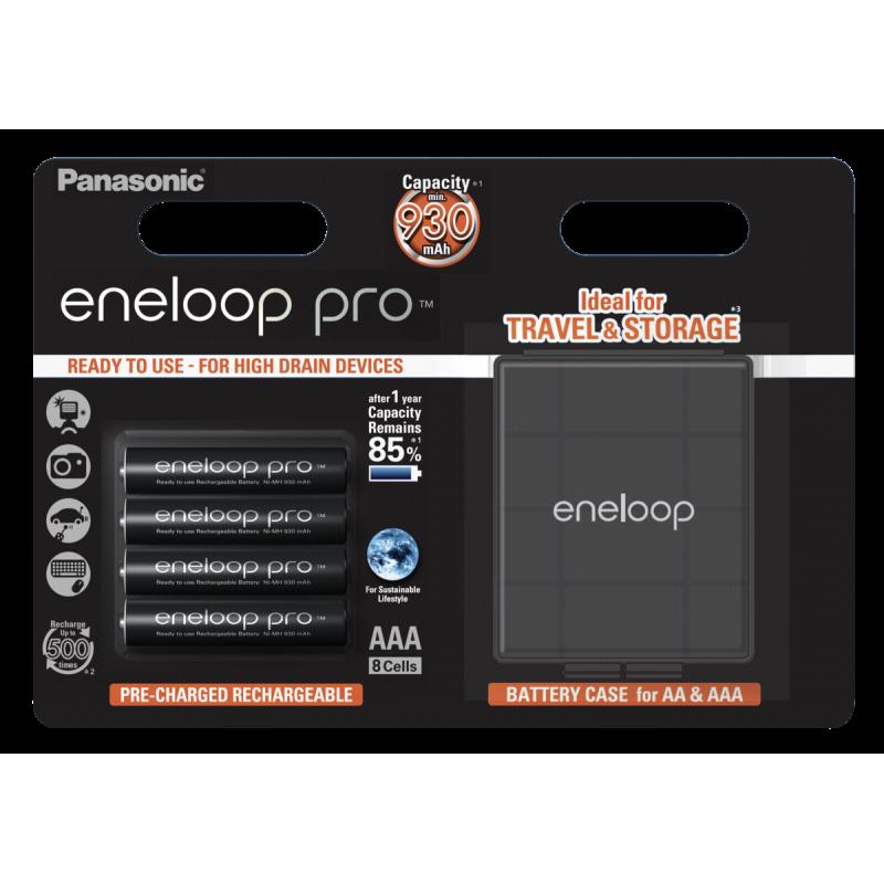 1x4 Panasonic Eneloop Pro Micro AAA 930 mAh  Akkubox