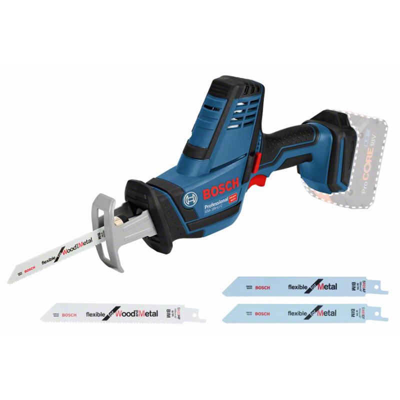 Bosch GSA 18VLI C Cordless Saber Saw