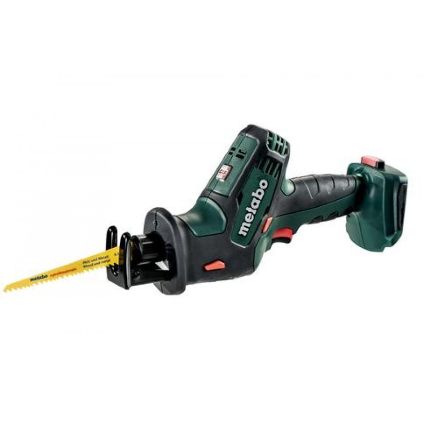 Metabo SSE 18 LTX Compact sabre saw 1.3 cm Black,Green,Red