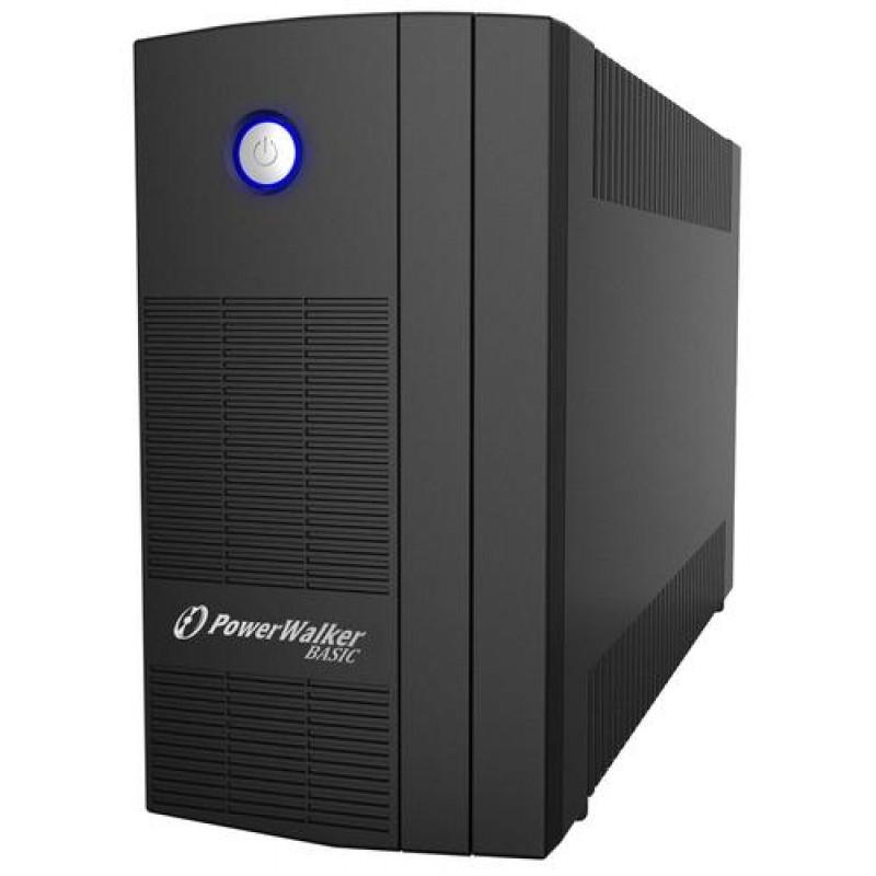PowerWalker Basic VI 1000 SB uninterruptible power supply (UPS) Line-Interactive 1000 VA 600 W 3 AC outlet(s) Black