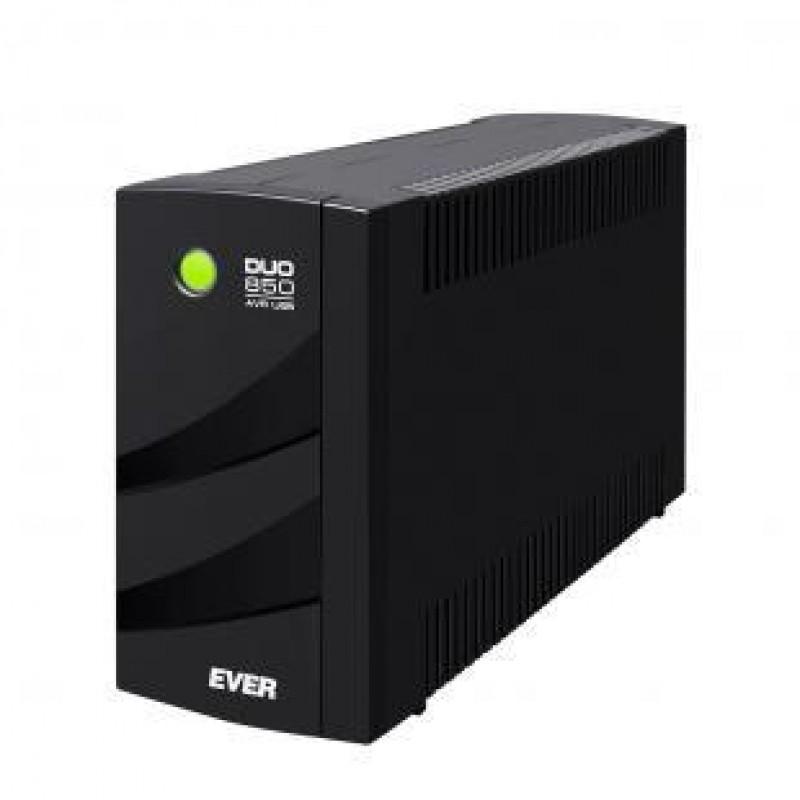 Ever DUO 850 AVR USB Line-Interactive 850 VA 550 W 6 AC outlet(s) Black