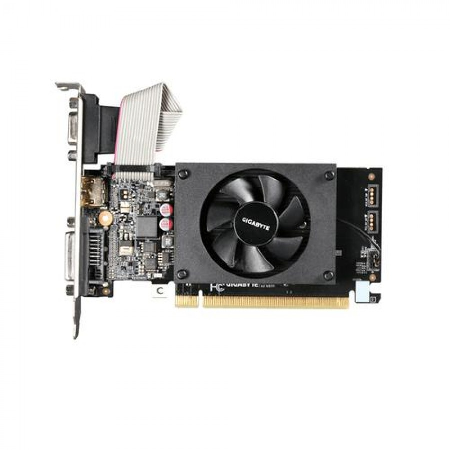 Gigabyte GV-N710D3-2GL graphics card GeForce GT 710 2 GB GDDR3