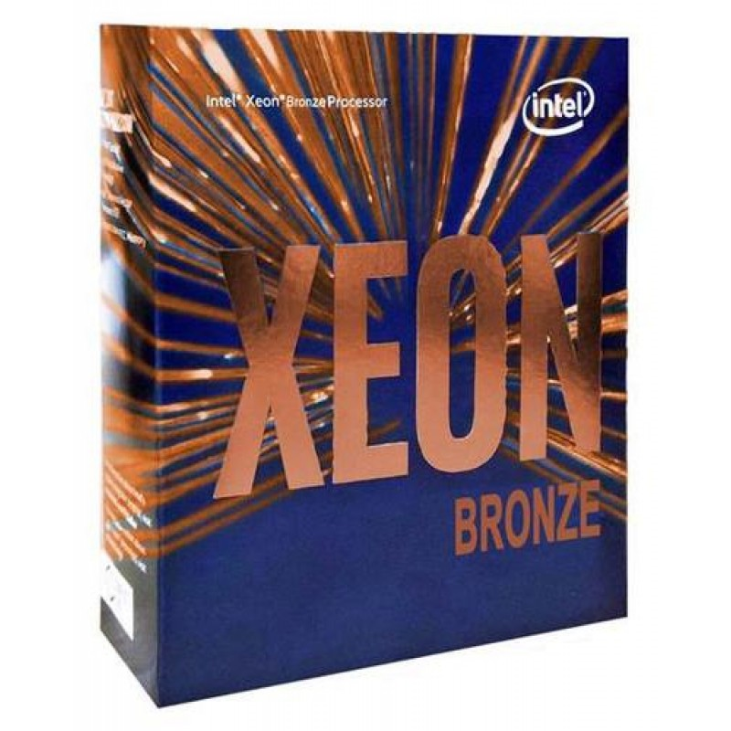 Intel Xeon 3104 processor 1.70 GHz Box 8.25 MB L3