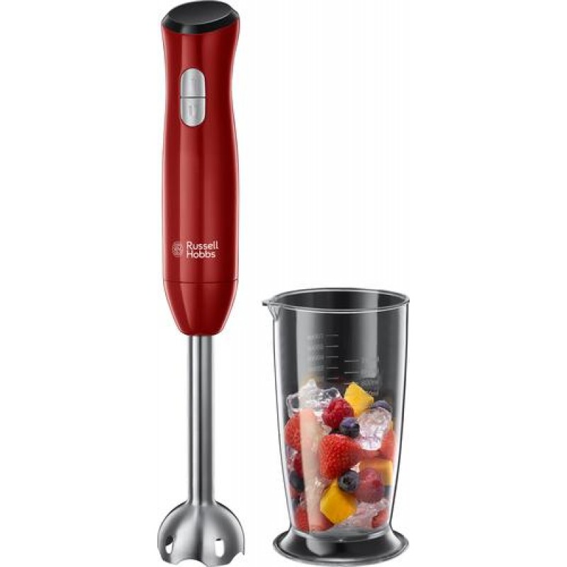 Russell Hobbs Desire blender 0.7 L Immersion blender Red,Stainless steel 500 W
