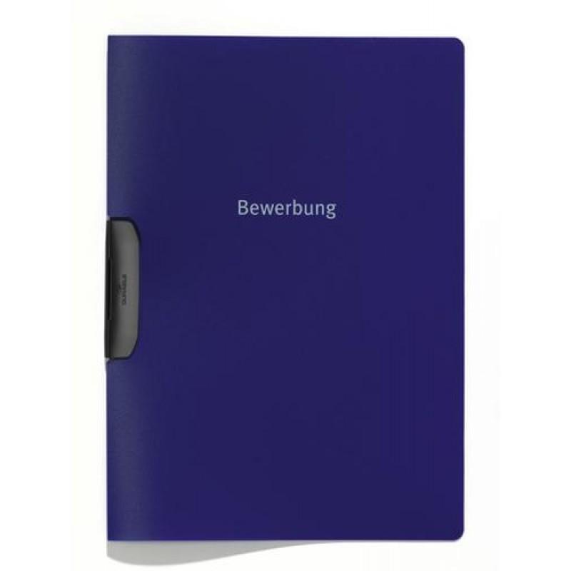 Durable Duraswing Job report cover Blue Polypropylene (PP)