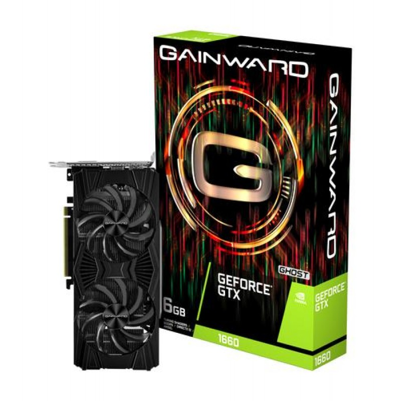 Gainward 426018336-4481 GeForce GTX 1660 6 GB GDDR5 Black