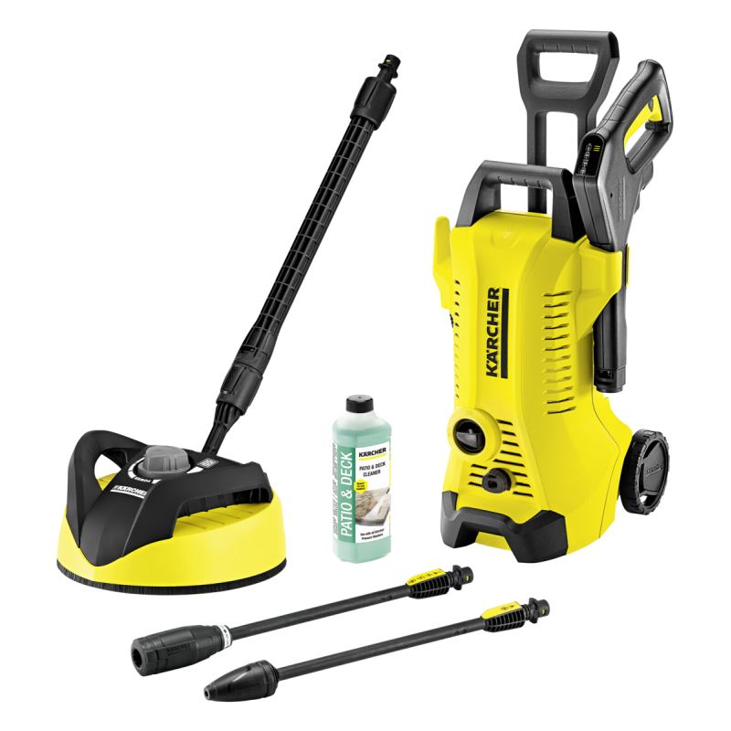 Kärcher K 3 FULL CONTROL HOME T350 pressure washer Upright Electric Black,Yellow 380 l/h 1600 W