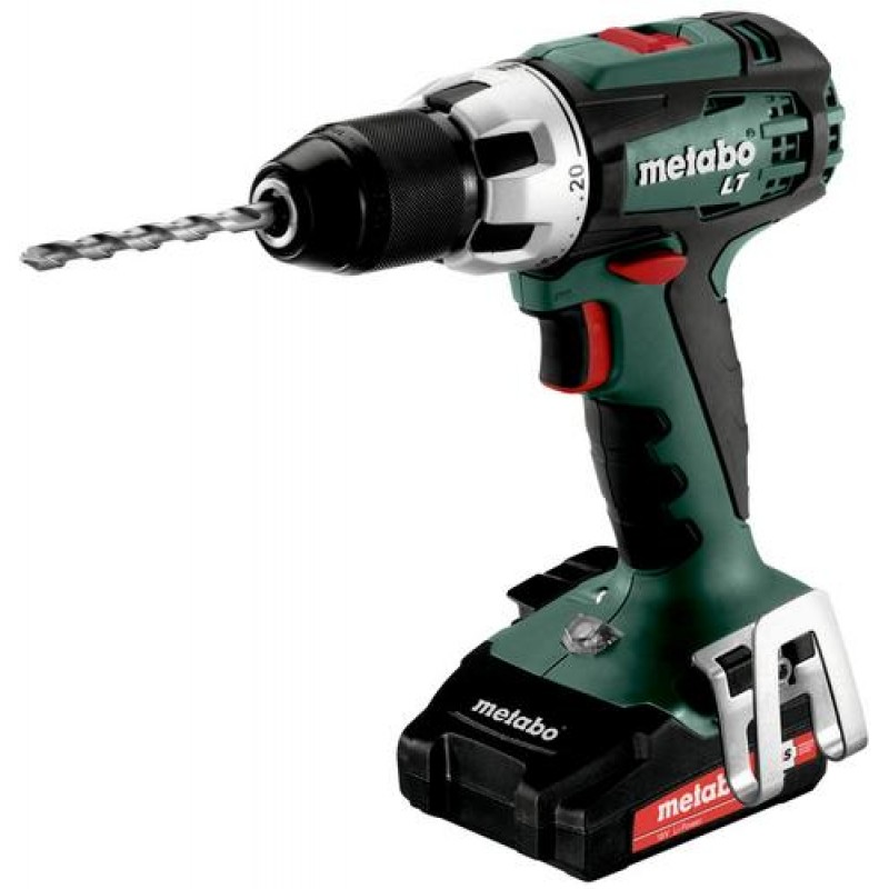Metabo BS 18 LT COMPACT Keyless Black,Green,Red,Silver 1600 RPM 1.6 kg