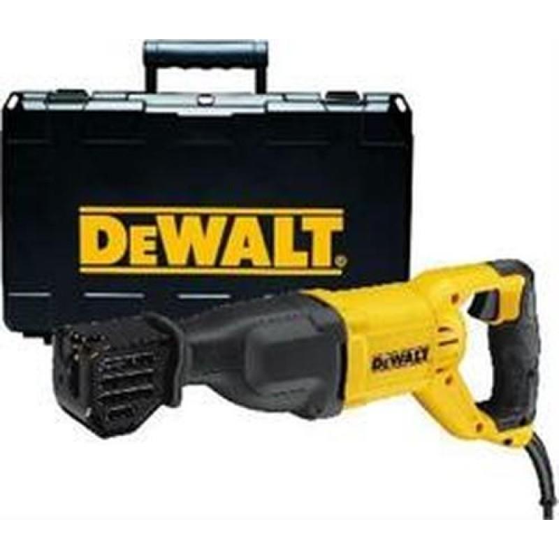 DeWALT DWE305PK-QS sabre saw 2.9 cm Black,Yellow 1100 W