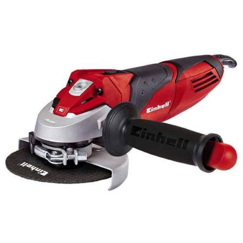 Einhell TE-AG 125/750 angle grinder 12000 RPM 750 W 12 cm 1.85 kg Black,Red