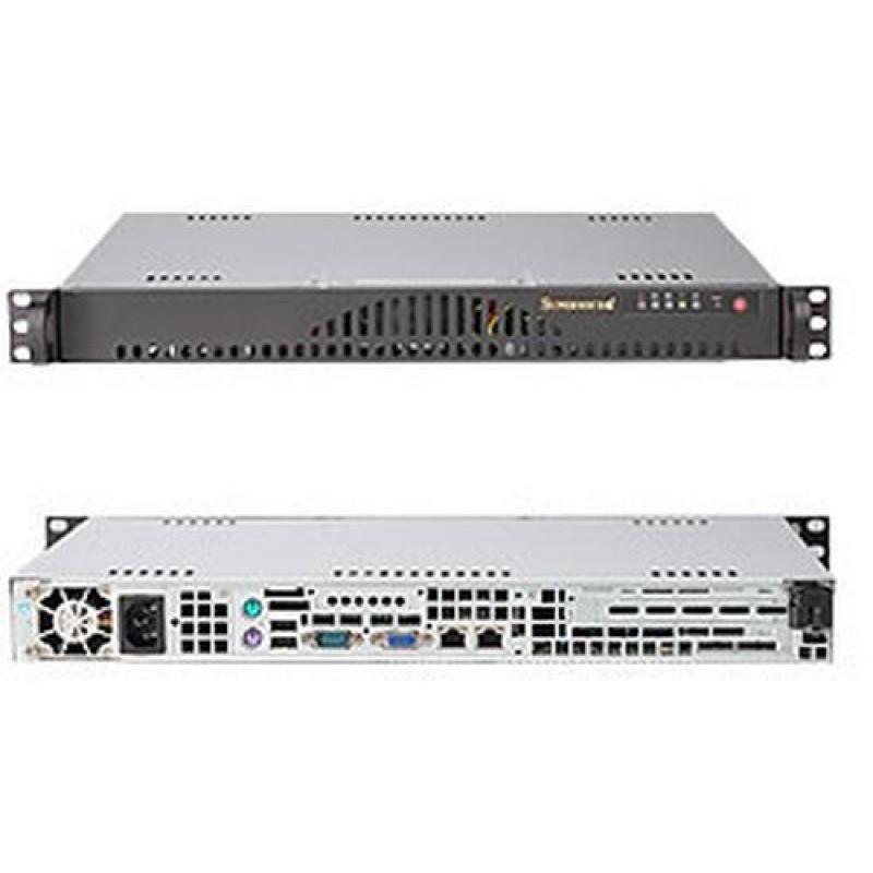 Supermicro SC512L-200B Rack Black 200 W