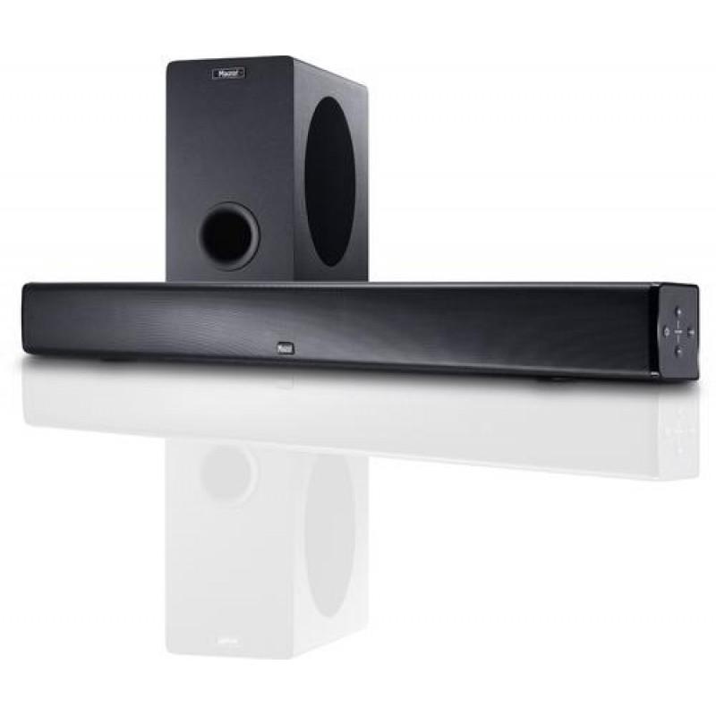 Magnat SBW 250 soundbar speaker 360 W Black