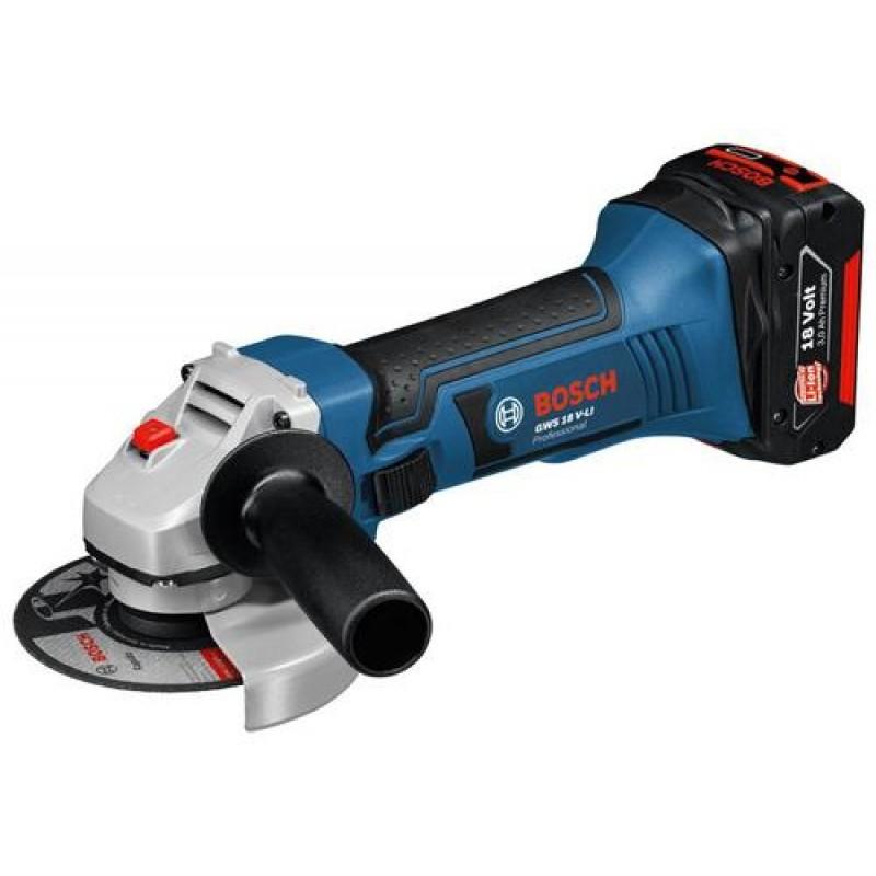 Bosch GWS 18 V-LI angle grinder 10000 RPM 11.5 cm 2.3 kg