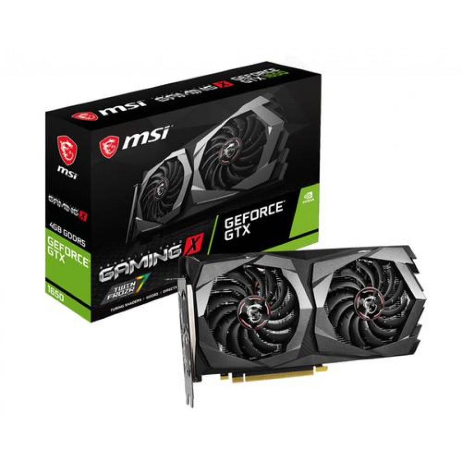 MSI GEFORCE GTX 1650 GAMING X 4G Black,Grey