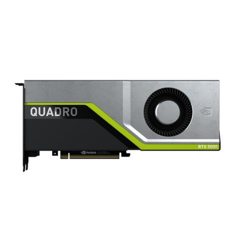 PNY VCQRTX5000-PB graphics card Quadro RTX 5000 16 GB GDDR6 Black,Grey,Yellow