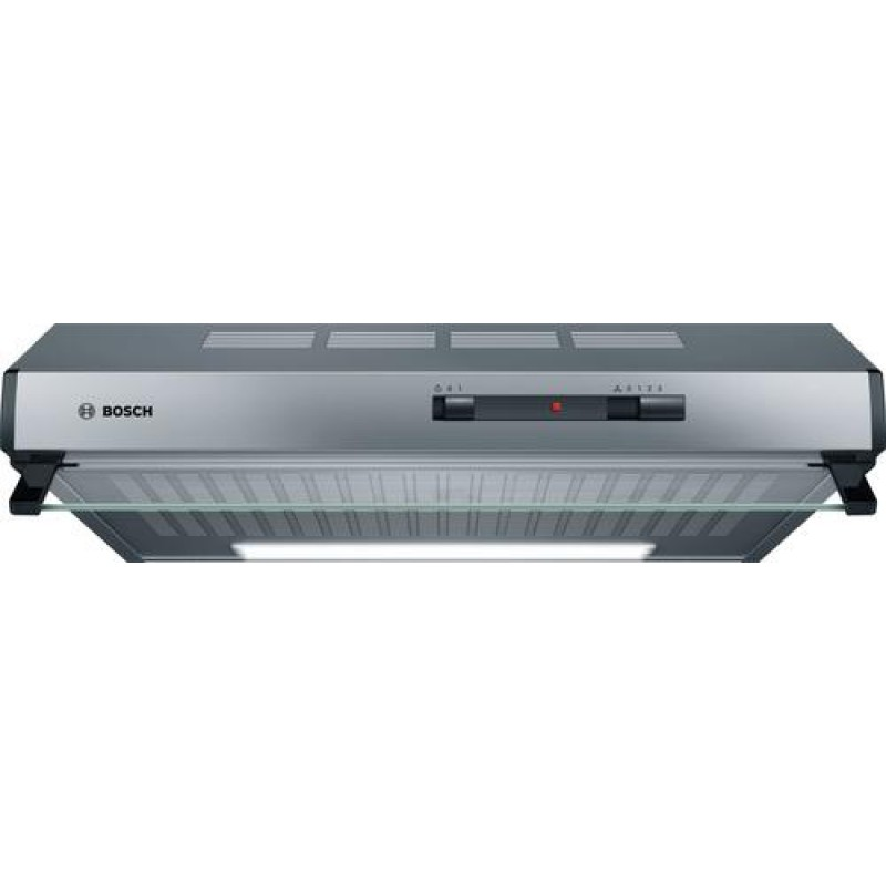 Bosch Serie 2 DUL62FA51 cooker hood 250 m³/h Wall-mounted Stainless steel D
