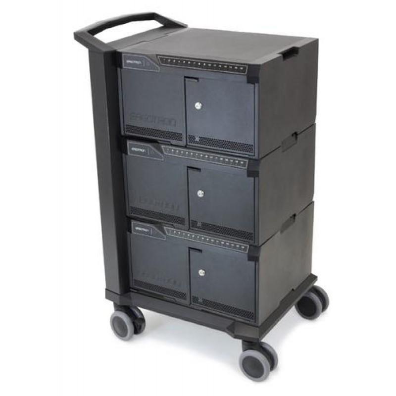 Ergotron Cart 48 Multimedia cart Black Notebook