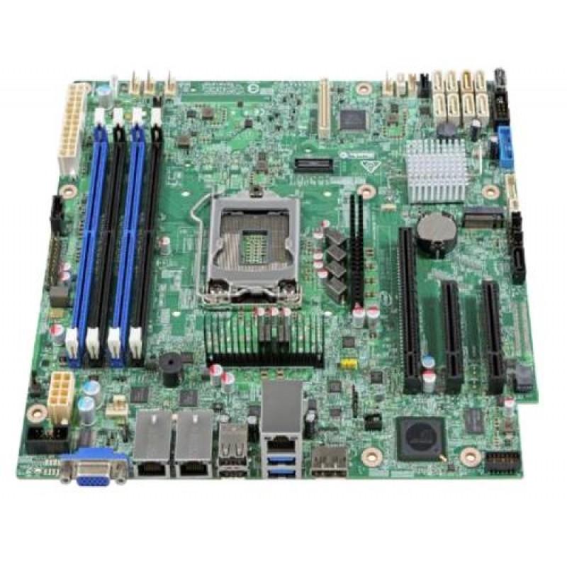 Intel S1200SPLR server/workstation motherboard Micro ATX Intel® C236