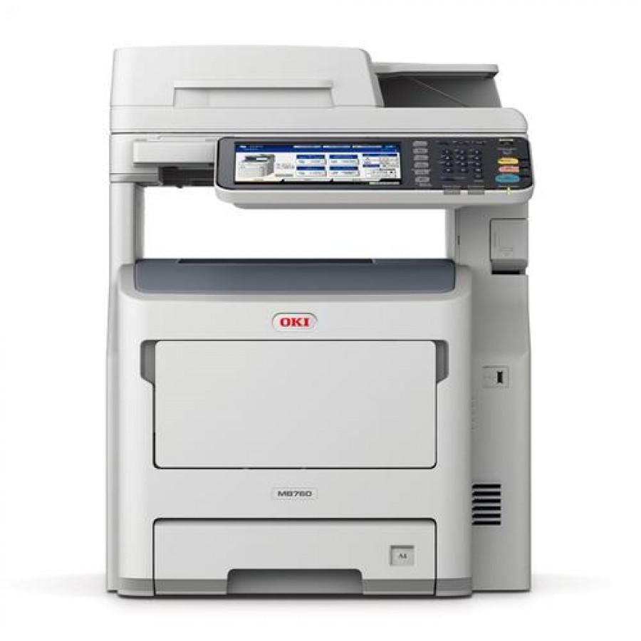 OKI MB760dnfax LED 47 ppm 1200 x 1200 DPI A4 Grey,White