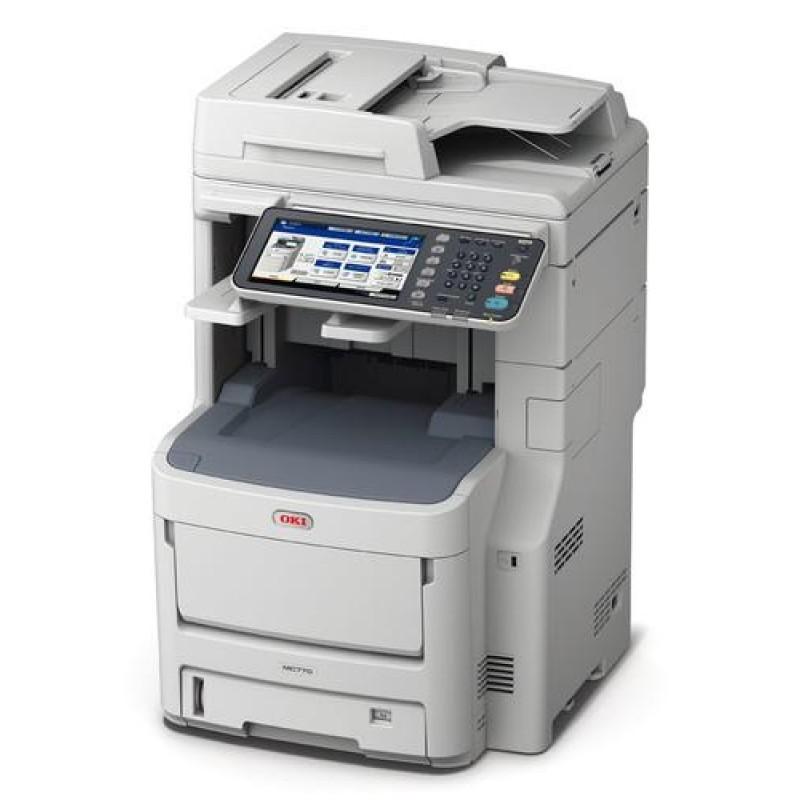 OKI MC770dnfax LED 36 ppm 1200 x 600 DPI A4 Grey,White