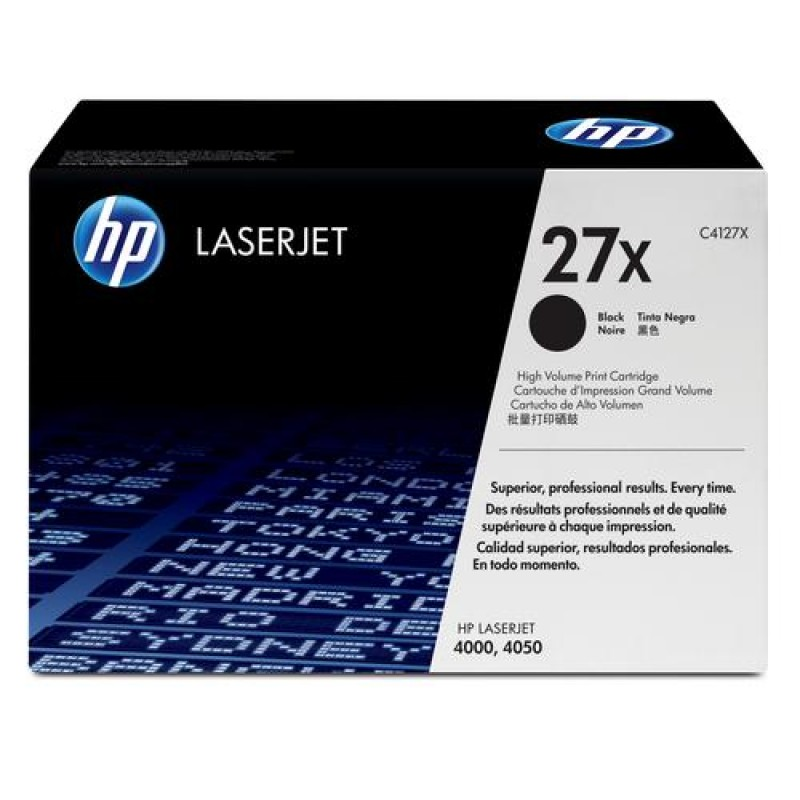 HP 27X Original Black 1 pc(s)