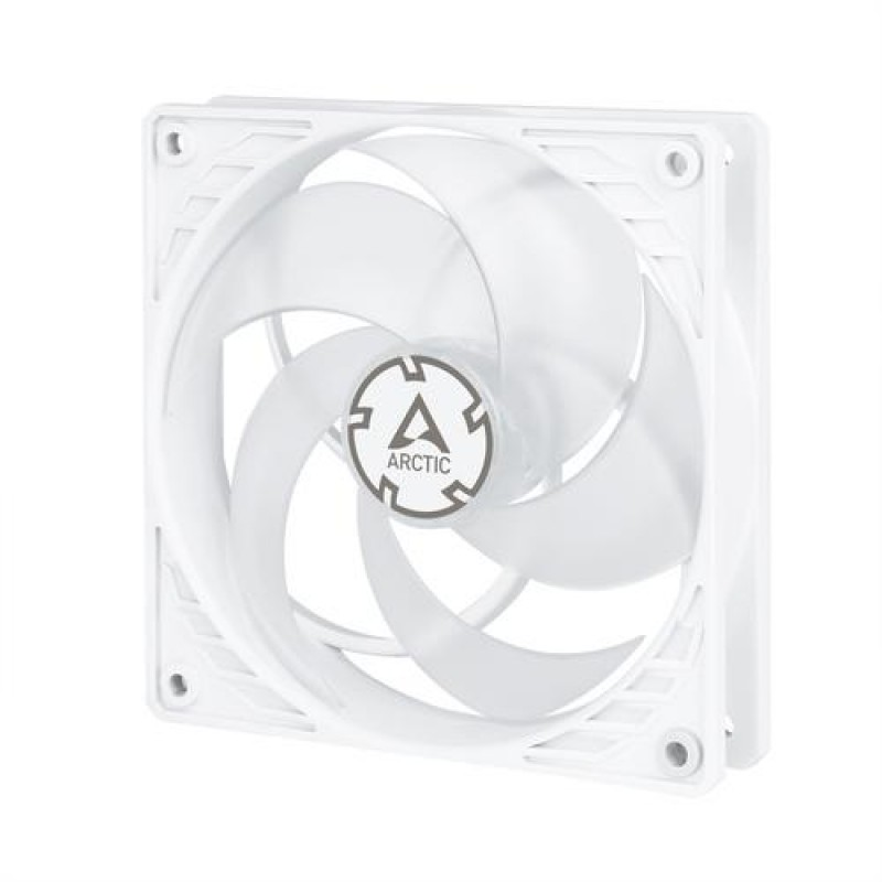 ARCTIC P12 PWM - Pressure-optimised 120 mm Fan with PWM Transparent,White