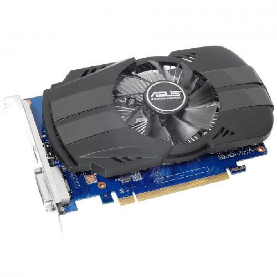 ASUS PH-GT1030-O2G GeForce GT 1030 2 GB GDDR5 Black,Blue,Stainless steel