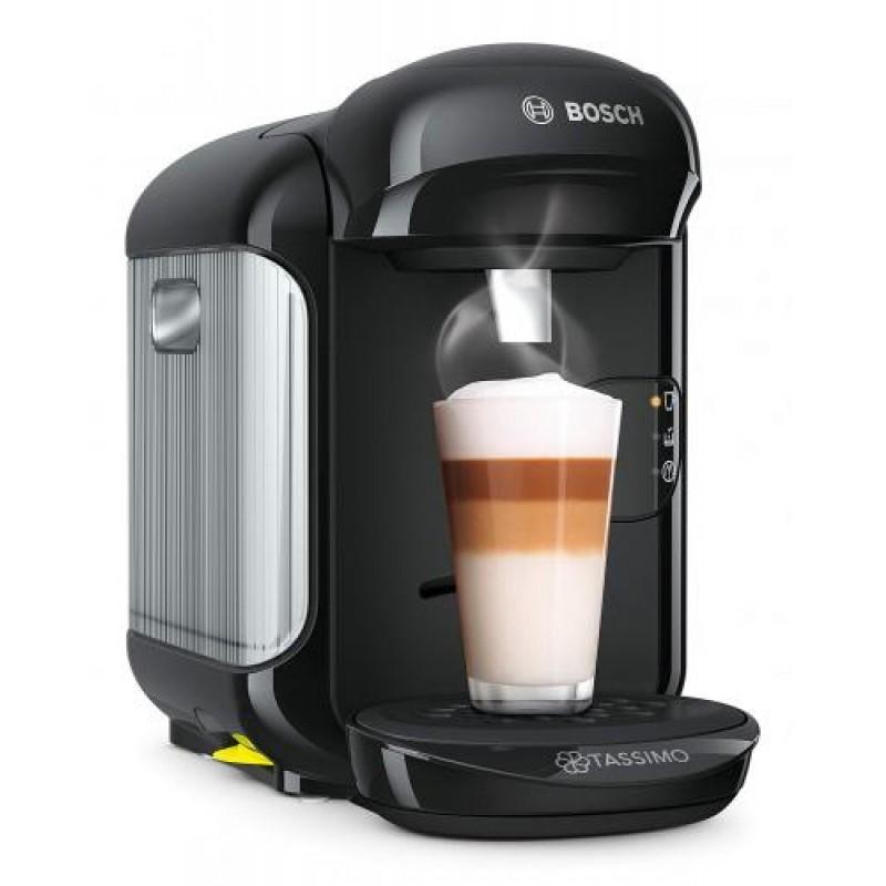 Bosch TAS1402 coffee maker Freestanding Combi coffee maker 0.7 L Fully-auto Black