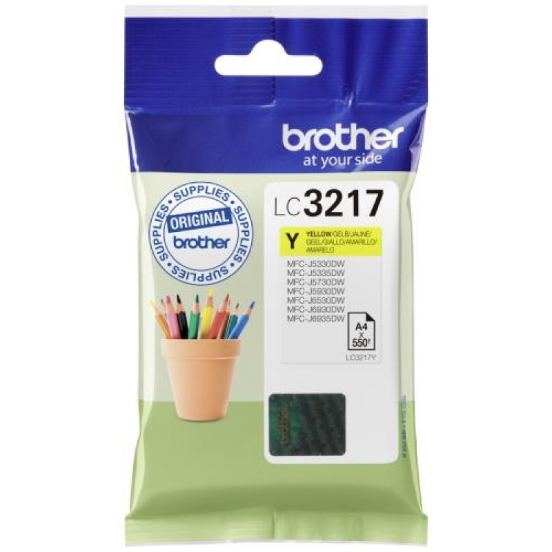 Brother LC-3217Y ink cartridge Original Yellow