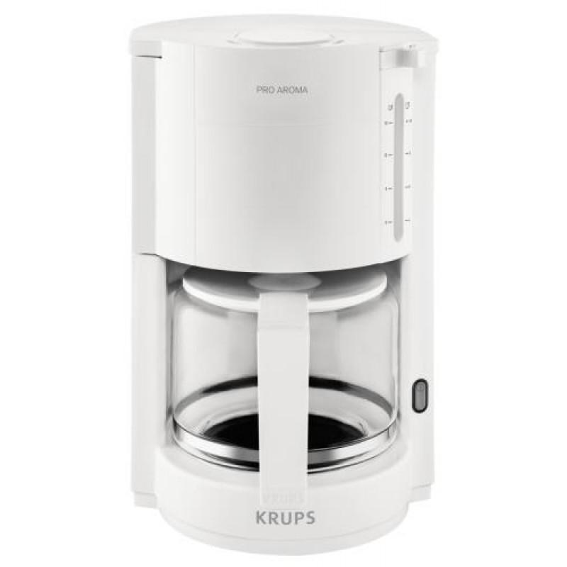 Krups F30901 coffee maker Countertop Drip coffee maker White