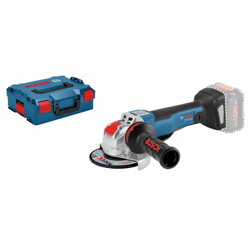 Bosch GWX 18V10 PC Cordless Angle Grinder