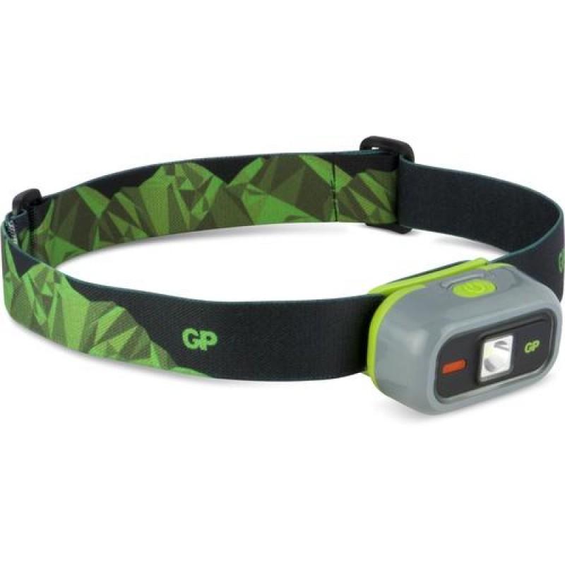 GP Lighting CH33 Headband flashlight Black,Green,Grey LED