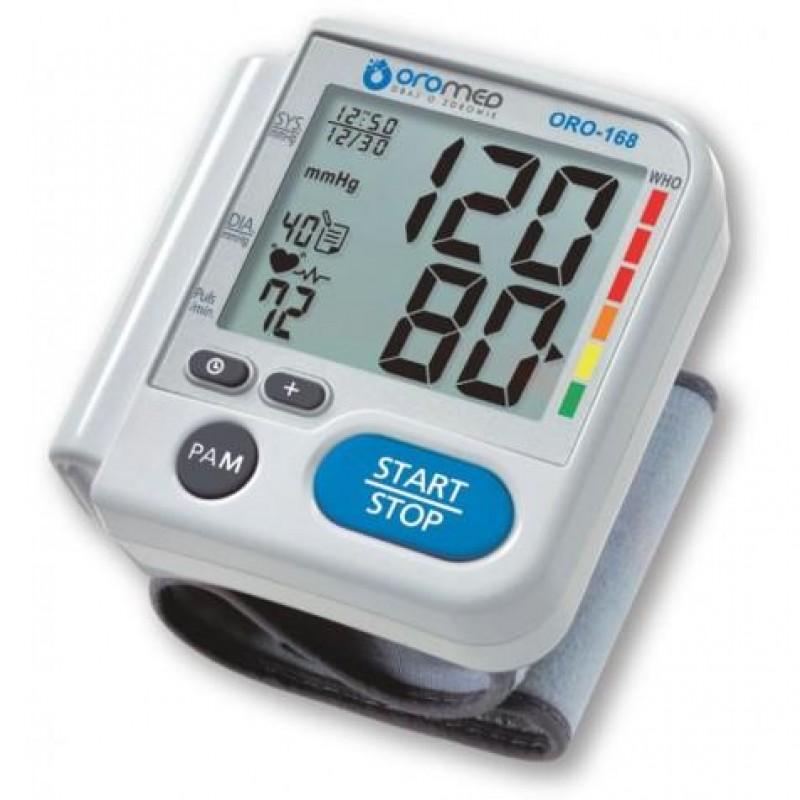 HI-TECH MEDICAL ORO-168 blood pressure unit Upper arm Automatic 3 user(s) White