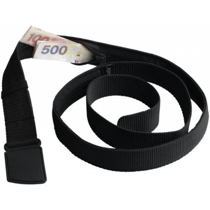 Pacsafe Cashsafe Travel Belt Wallet Black