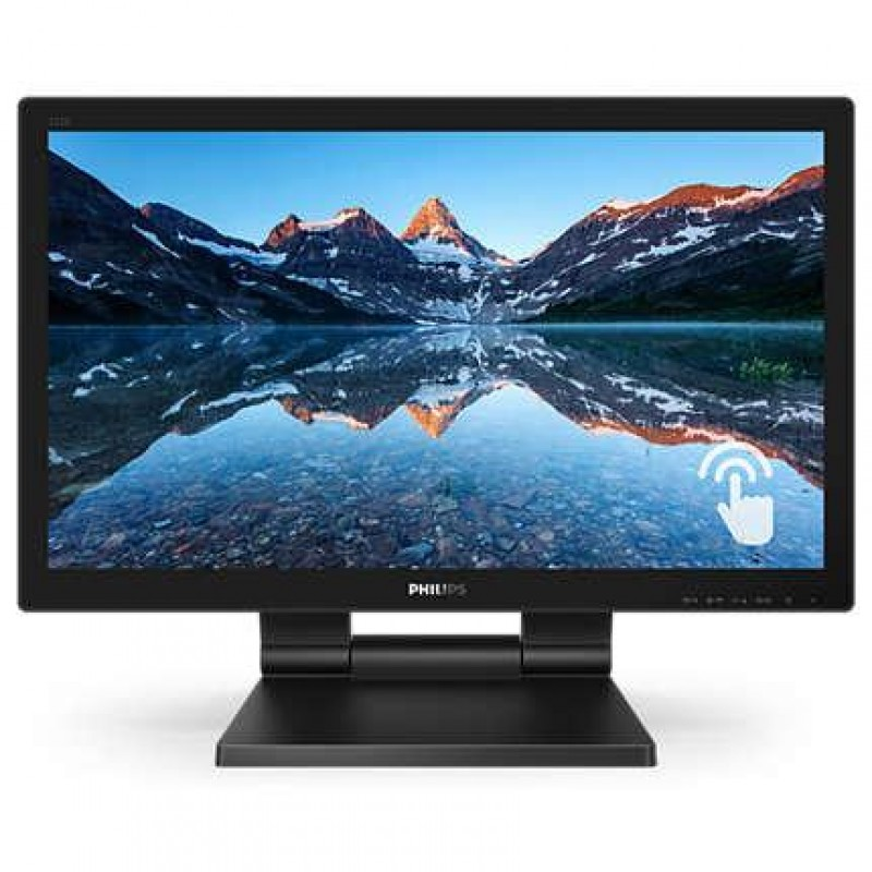 Philips LCD monitor with SmoothTouch 222B9T/00 Black