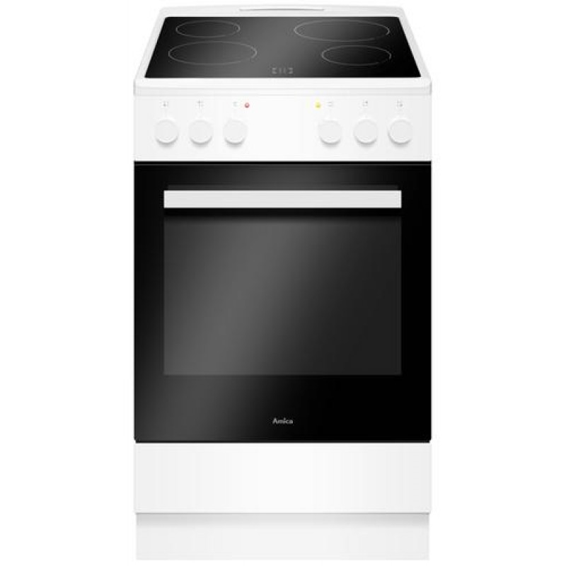 Amica SHC 903 031 W Freestanding cooker White Ceramic A