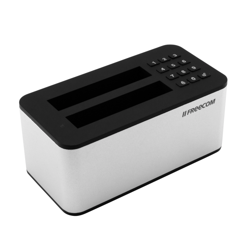 Freecom mDock Keypad Secure 25 Dockingstation USB 31 Gen 1