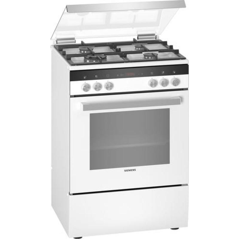 Siemens iQ300 HX9R3AI20 cooker Freestanding cooker White Gas A