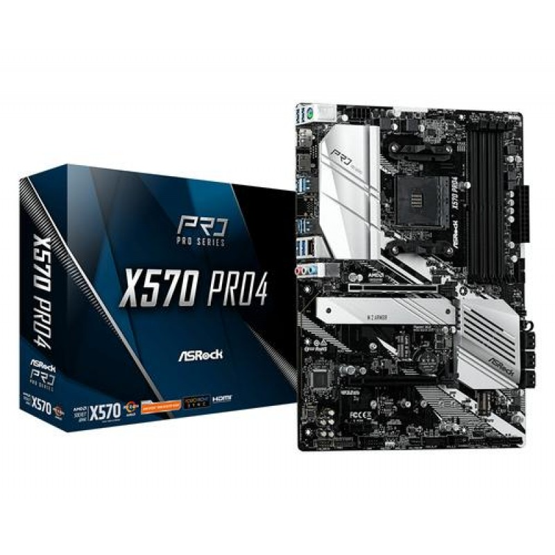 Asrock X570 Pro4 motherboard Socket AM4 ATX AMD X570
