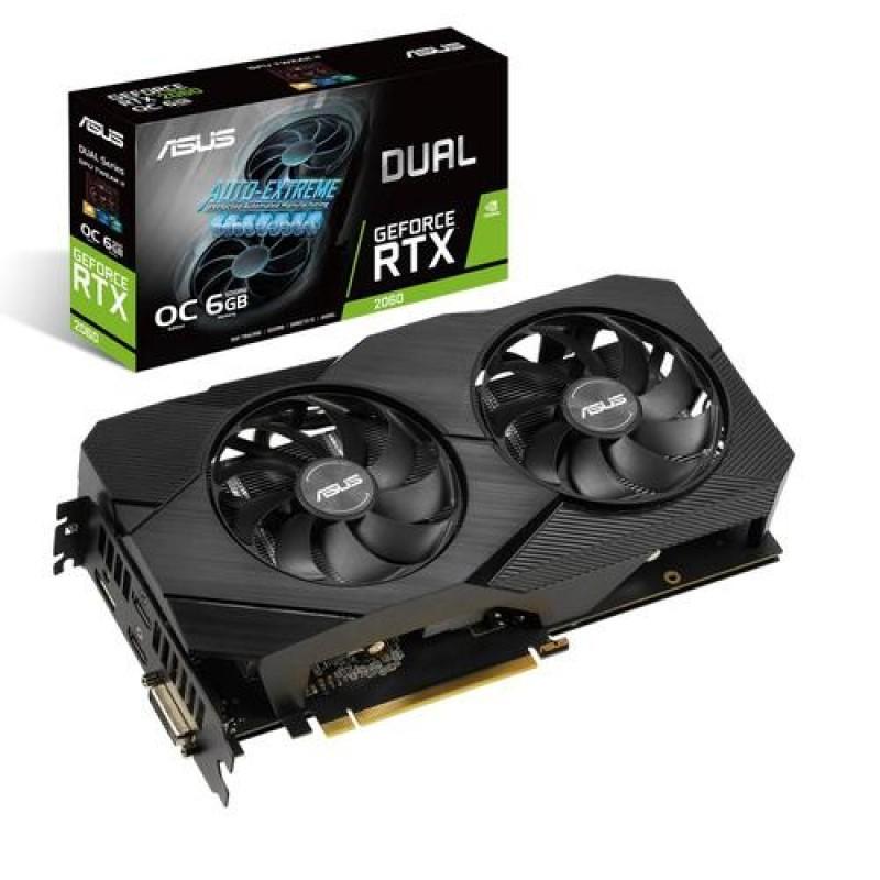 ASUS Dual -RTX2060-O6G-EVO GeForce RTX 2060 6 GB GDDR6 Black
