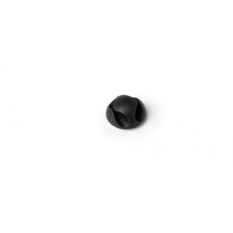 Durable Cavoline Clip 2 Cable holder Desk Black