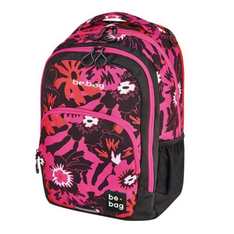 Herlitz be.bag be.ready Girl School backpack Black,Pink Polyester