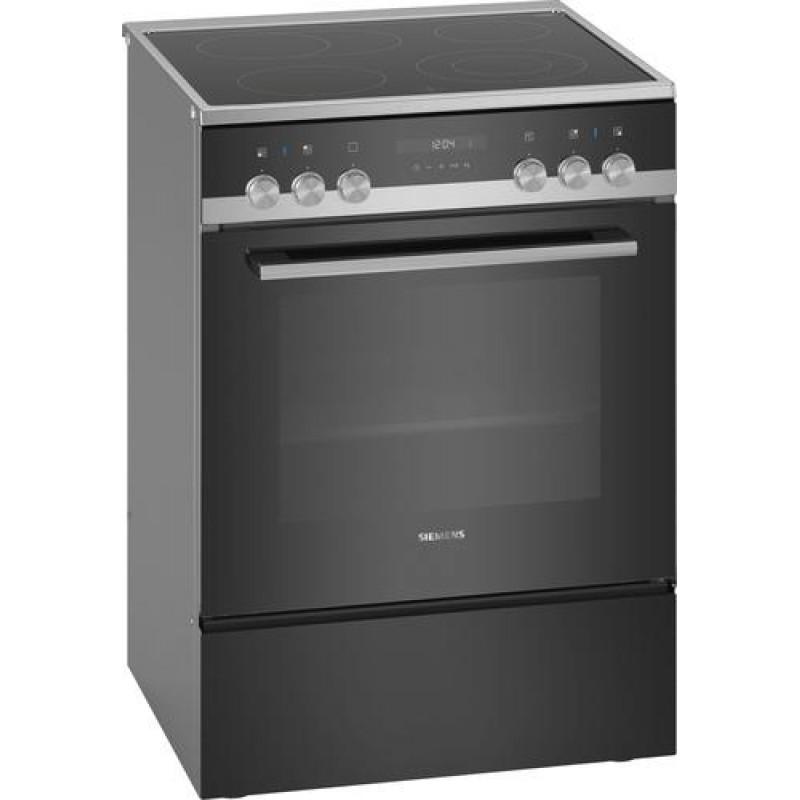 Siemens iQ500 HK9S5A240 cooker Freestanding cooker Black Ceramic A