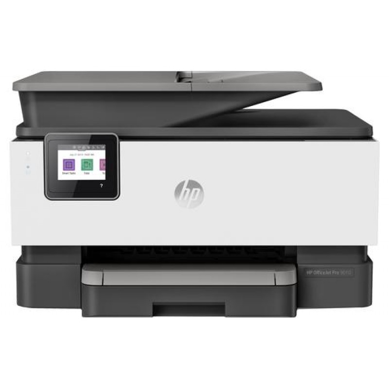 HP OfficeJet Pro 9010 All-in-one wireless printer Print,Scan,Copy from your phone, voice activated (works with Alexa and Google Assistant) Black,Grey,White