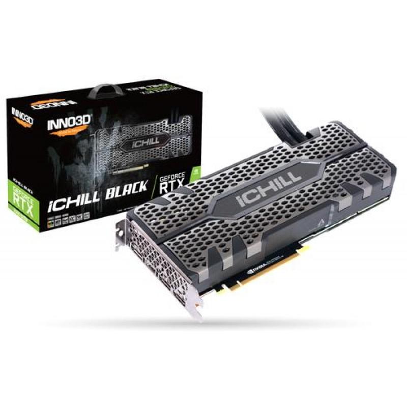 Inno3D iChill C208SB-08D6X-11800004 graphics card GeForce RTX 2080 SUPER 8 GB GDDR6 Black
