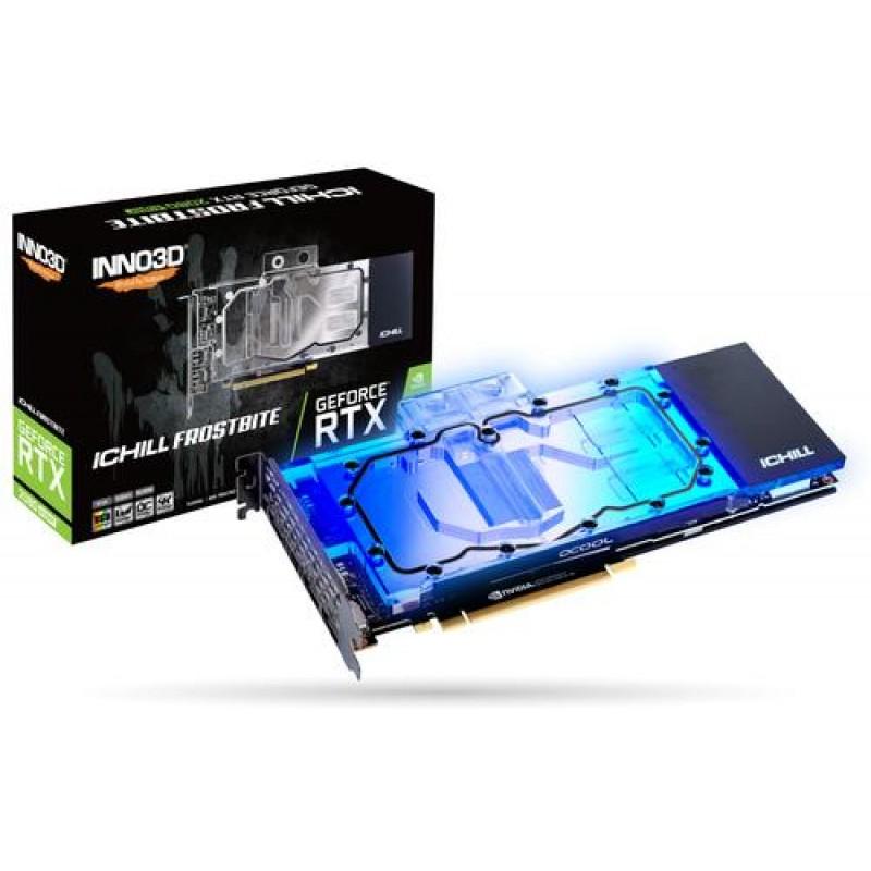 Inno3D iChill C208SB-08D6X-1180FROS graphics card GeForce RTX 2080 SUPER 8 GB GDDR6 Black