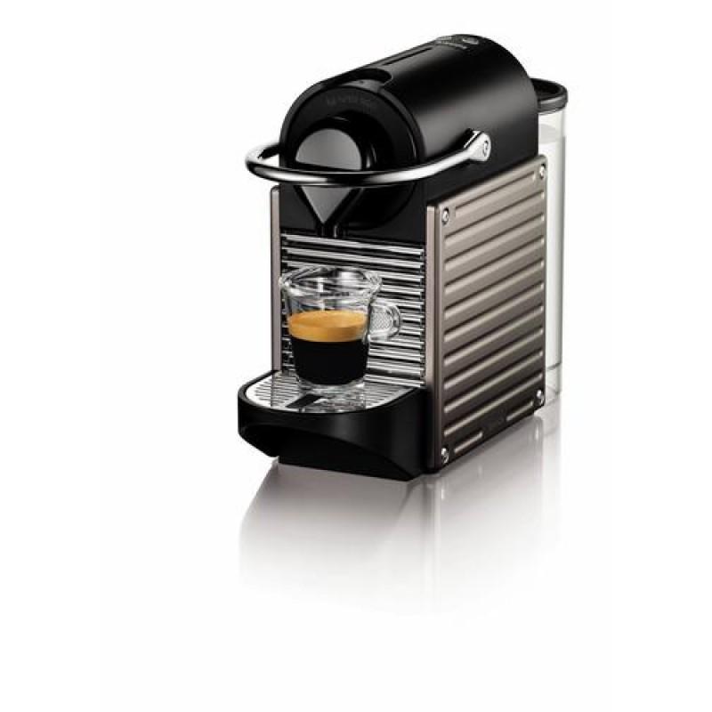Krups Nespresso XN304T coffee maker Countertop Espresso machine 0.7 L Titanium