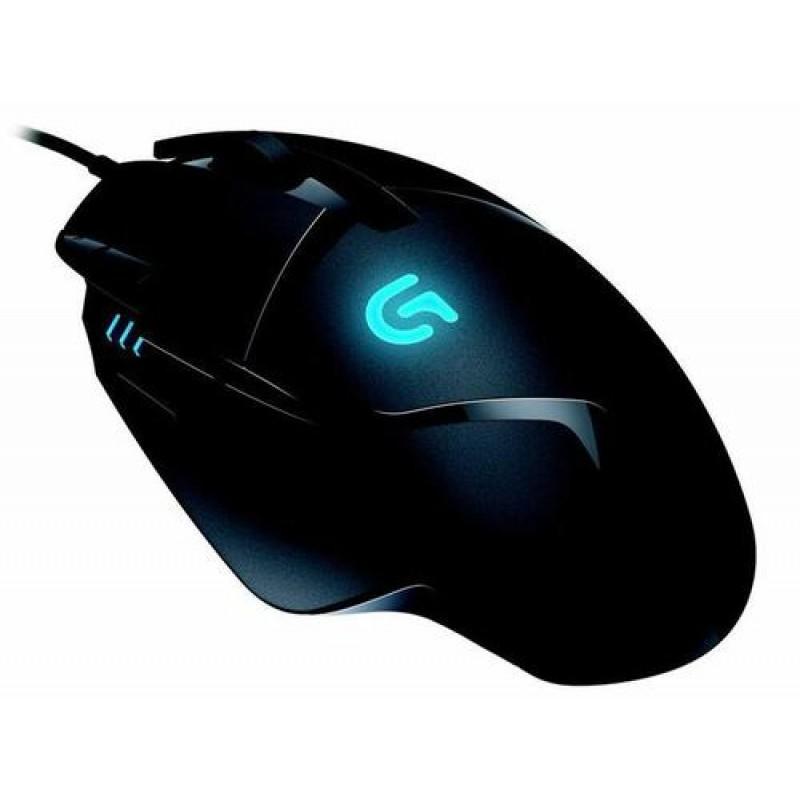 Logitech G G402 mouse USB 4000 DPI Ambidextrous Black