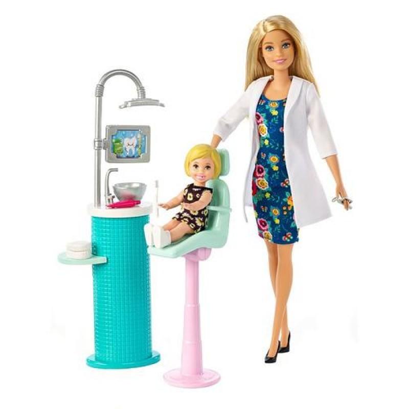 Doll MATTEL Barbie Lalka Dentystka FXP16 (From 3 years)